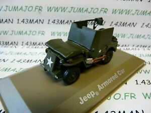 BL35U-VOITURE-1-43-Militaire-ATLAS-4X4-JEEP-Armored-Car-automitrailleuse