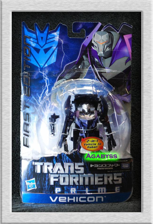Takara Transformers Prime First Edition Deluxe Vehicon Eradicon in USA NOW