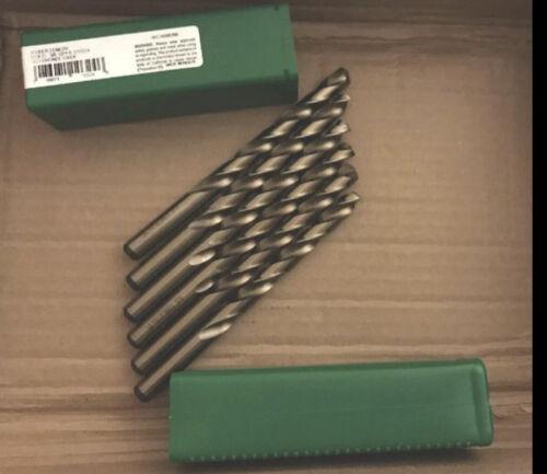 """3//8/"""" Cobalt 135° Jobber Length Drill Bit Precision Twist Drill 0103246 Pack"""