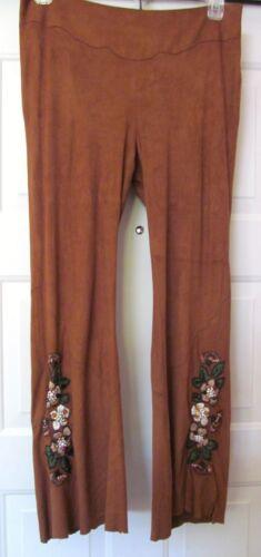 perles daim 10 brodé Makali soie de et Vtg Alberto en femmes sud ouest imitation Pantalon brodé pour au AaWqcOn5RR