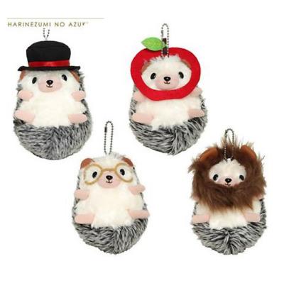 taito Hedgehog AZUKI dressed up mascot stuffed Soft plush 4set japan limited