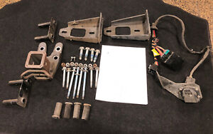 Mercedes-98-05-W163-ML-OEM-Complete-Trailer-Tow-Hitch-Kit-w-Wiring-Harness-RARE