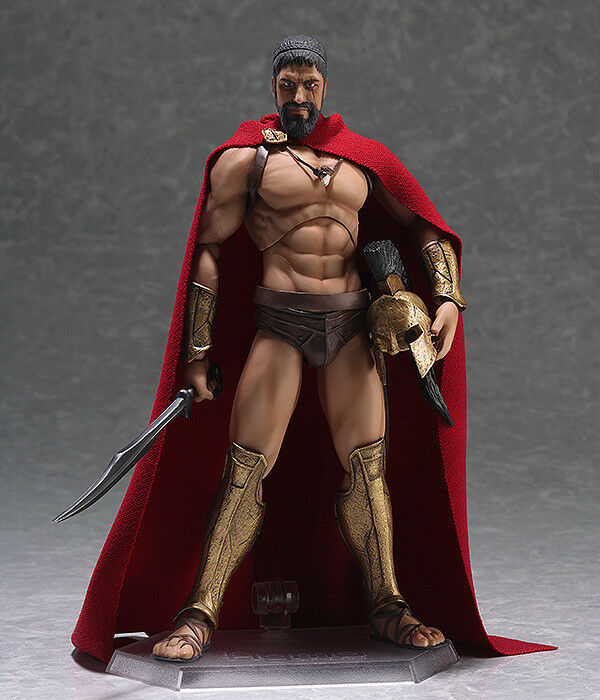 Max Factory Figma 270 Movie 300 This is King of Sparta Leonidas Figure