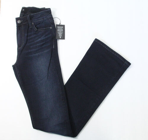 Joes Jeans The Icon Mid Rise Bootcut Womens sz 27 Denim Stretch Dark rhys NEW