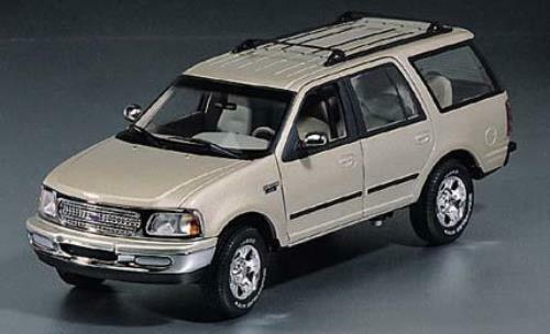 1 18 UT modelller Ford Exputgåva XLT guld, grön
