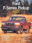 Ford F-Series Pickup Owner's Bible: A Hands-on Guide to Getting the Most from Your F-Series Pickup by Moses Ludel (Paperback, 1995)