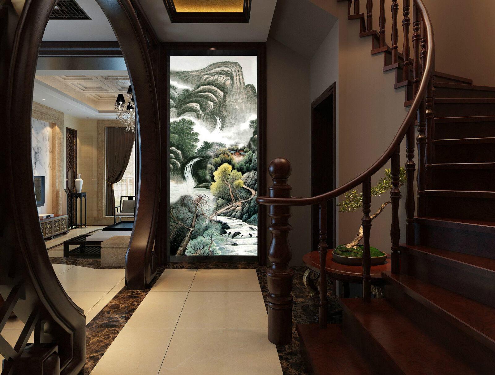 3D Courante 768 768 768 Photo Papier Peint en Autocollant Murale Plafond Chambre Art ba99db