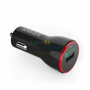 Qualcomm-Certified-Anker-PowerDrive-1-Quick-Charge-QC-2-0-24W-USB-Car-Charger