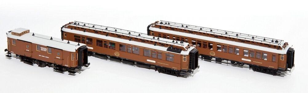 HS Hobbytrain h44016 CIWL Vienna-Nizza-Cannes Express 3 3 3 Pezzi Set 1 per A C 7b45c5