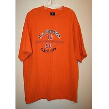 Men's, Orange, 100% cotton, Short Sleeve, T-shirt by U.S. Polo Assn. Size XXL