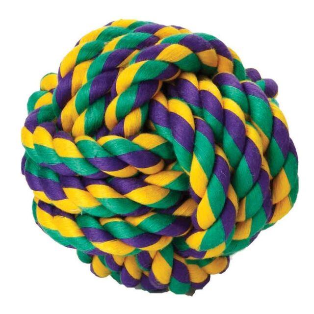Happy Pet - Nak Knot Cotton Ball Dog Toy - Medium