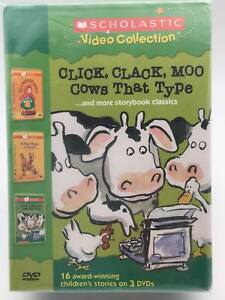 Scholastic Video Collection Click Clack Moo Cowsdvd 2004 3 Disc