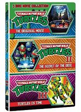 Teenage Mutant Ninja Turtles: The Movie Collection - DVD NEW & SEALED (3 Discs)
