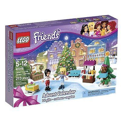 LEGO Friends Advent Calendar 41016 Open Box Complete Christmas Countdown 2013