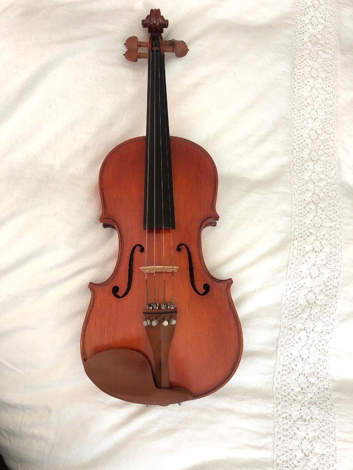 Handmade Violin Copy Of DelJesu