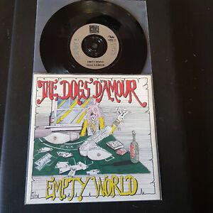 The-Dogs-D-039-Amour-Empty-World-Vinyl-7-034-45-RPM-Single-Rock-1990