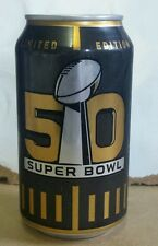 Bud Light NFL 2016 Super Bowl 50 can - Limited Edition CAN