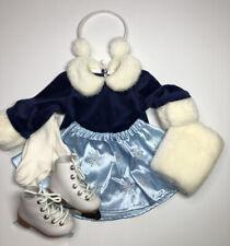 """Sale! Monique 98mm LT BLUE Elegant Ankle Straps fit 23/"""" My Twinn Poseable"""
