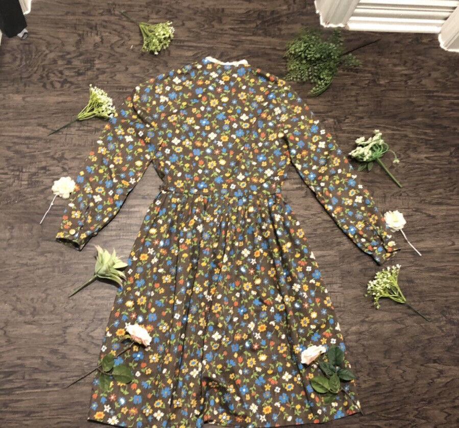 GUC Vintage Cottagecore Fairycore Floral Prairie … - image 2