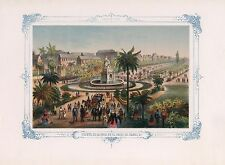 1855 Fuente de la Jndia en el paseo Jsabel Fountain India Avenue Isabel CUBA 12