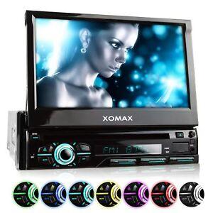 AUTORADIO-DVD-CD-BLUETOOTH-TOUCHSCREEN-BILDSCHIRM-USB-SD-MP3-AUX-1DIN-B-Ware
