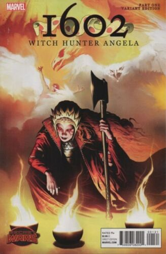 1602 Witch Hunter Angela #1 Isanove Variant Cover Marvel, 2015 NEW