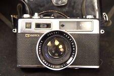 Vintage Yashica Electro 35 Rangefinder Camera W/ Case