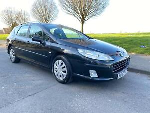 2006 06 Peugeot 407 SW S 1.6 HDI estate 5spd manual PX to clear !!