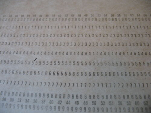 USSR Computer Mainframe Punch Card Perforated Like for IBM UNIVAC computers!