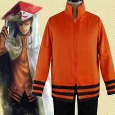 Anime Uzumaki Boruto Cosplay Costume Unisex Coat Baseball Jacket pants AA.068