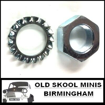 Classic Mini Clutch Hose Nut and Washer 2k8686 rover non austin verto all models
