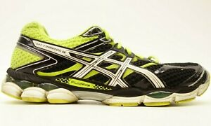 Detalles de ASICS Hombre Gel-Cumulus 16 Neon Black Atletismo Zapatillas  Talla US 9 Eu 42.5