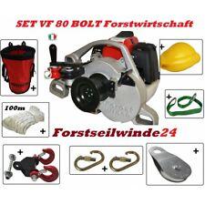 Motorseilwinde Spillwinde Forstseilwinde VF 105 RED IRON 50 Seil Benzin