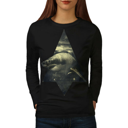 Shark Great White Women Long Sleeve T-shirt NEWWellcoda