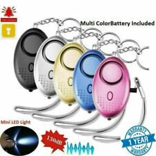 Details about  /140db Police Approved Keyring Personal Panic Rape Attack Safety Security Alarm