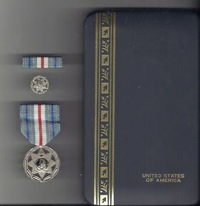 Collectibles Hard-Working Usa National Mapping And Imagery Agency Meritorious Service Medal