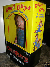 """Good Guy's  'Child's Play 3   over 12"""" inches {1st }Talking Chucky Doll in box"""