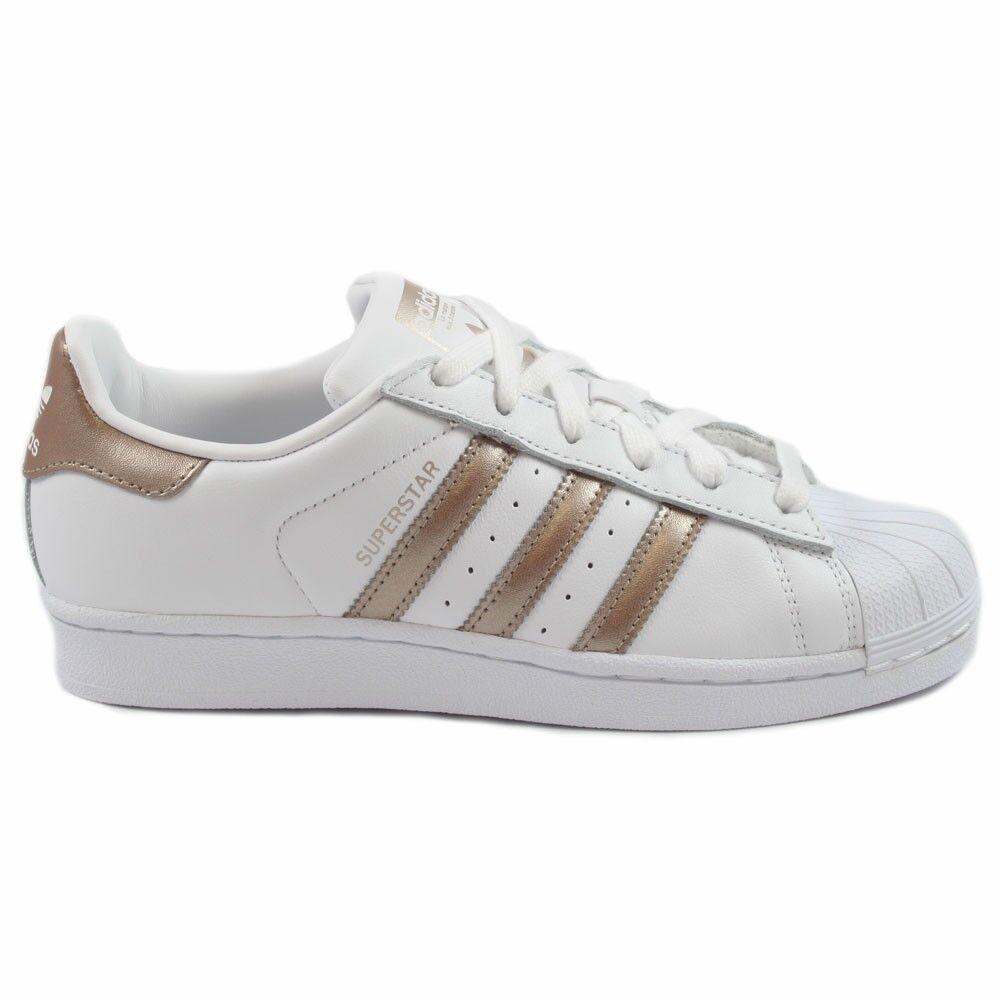 Adidas Damen Damen Adidas Sneaker Superstar FtwWht/CybeMt/FtwWht CG5463 3871af