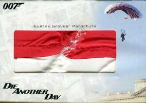 James-Bond-in-Motion-2008-Graves-039-Parachute-Relic-Prop-Card-RC22-180-850
