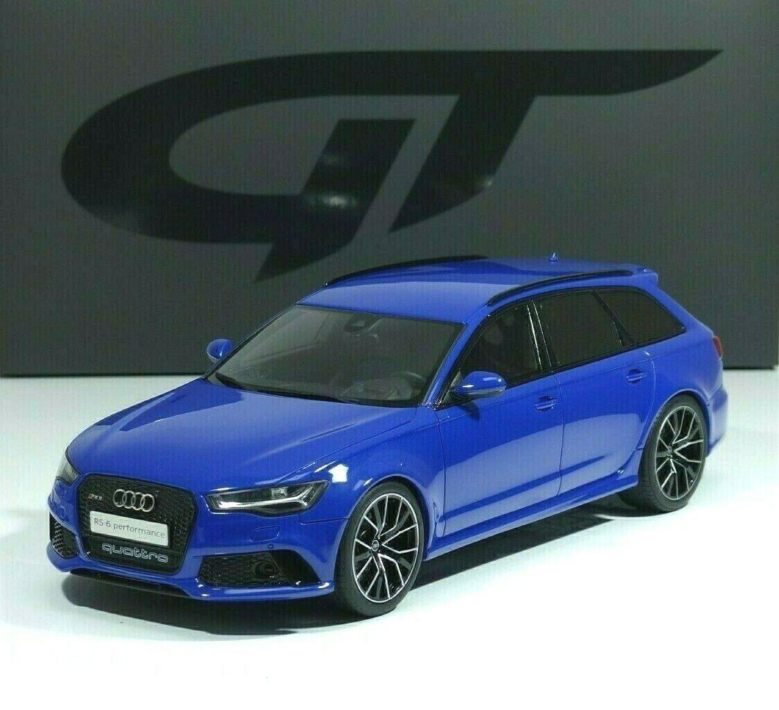 Audi rs6 avant c7 performance Nogaro Edition Nogaro-blu gt719 GT Spirit 1 18