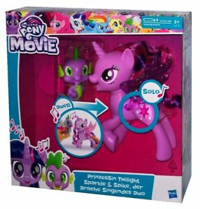 Hasbro My Little Pony The Movie Prinzessin Twilight Sparkle & Spike, der Drache