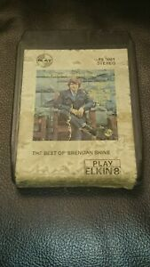 Vintage-8-Track-Cassette-Cartridge-Eight-the-best-of-Brendan-shine