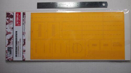 Hunter 1//700 IJN RYUJYO deck masking sheet for FUJIMI 431000 M700145