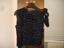 GIORGIO ARMANI BLACK LABEL EVENING TOP BOW WOMENS SMALL MEDIUM M 44