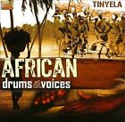 African Drums & Voices by Tinyela (CD, Aug-2010, ARC)