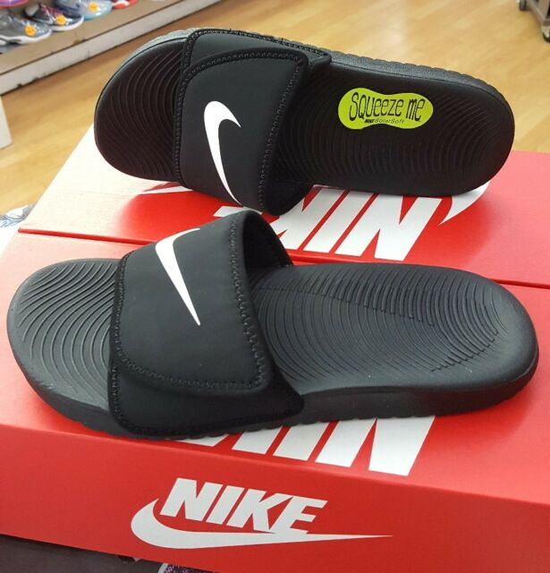 1742dc34748e NIKE KAWA ADJUST SLIDE (GS PS) 819344 001 PRE SCHOOL US SZ 3Y