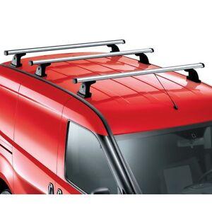 FIAT DOBLO Onwards 2010 ANTI THEFT ROOF RAIL BARS RACK CROSS BARS GREY COLOUR