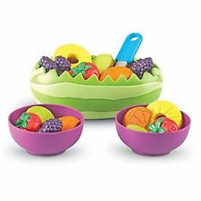Learning Resources New Perfect Sprouts Fresh Fruit Salad Kids Play Food Toy Set