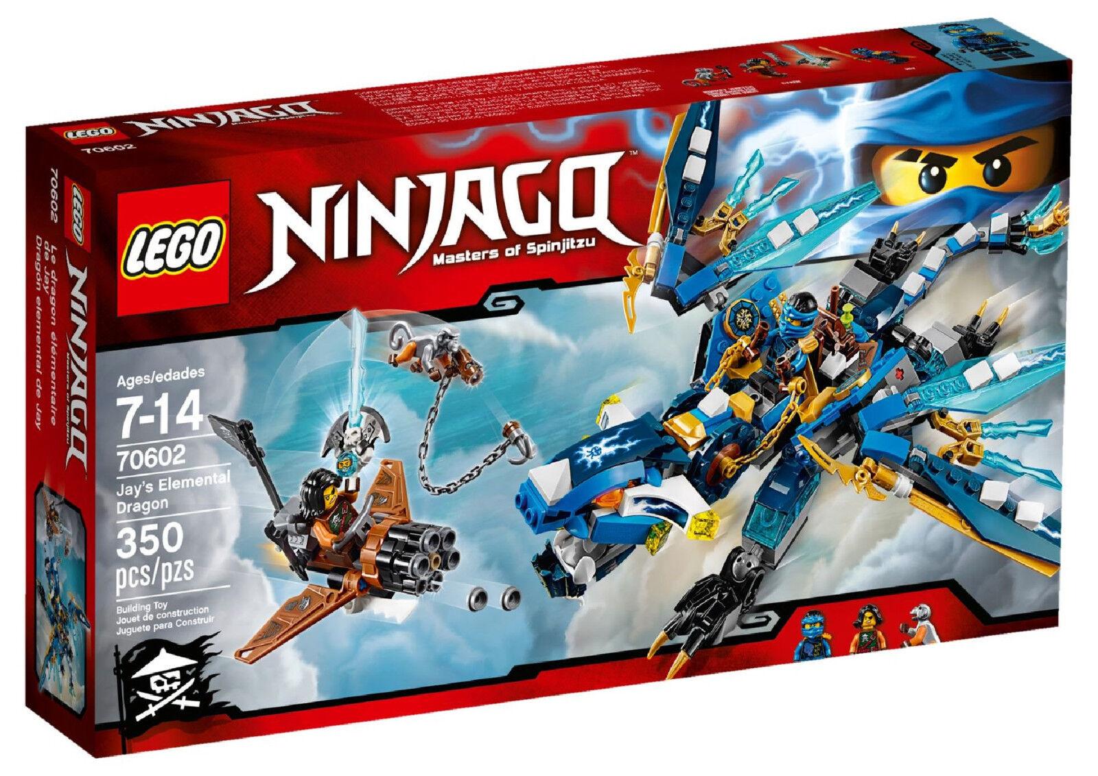 LEGO® NINJAGO™ (70602) Jays Elementardrache inkl Versand NEU