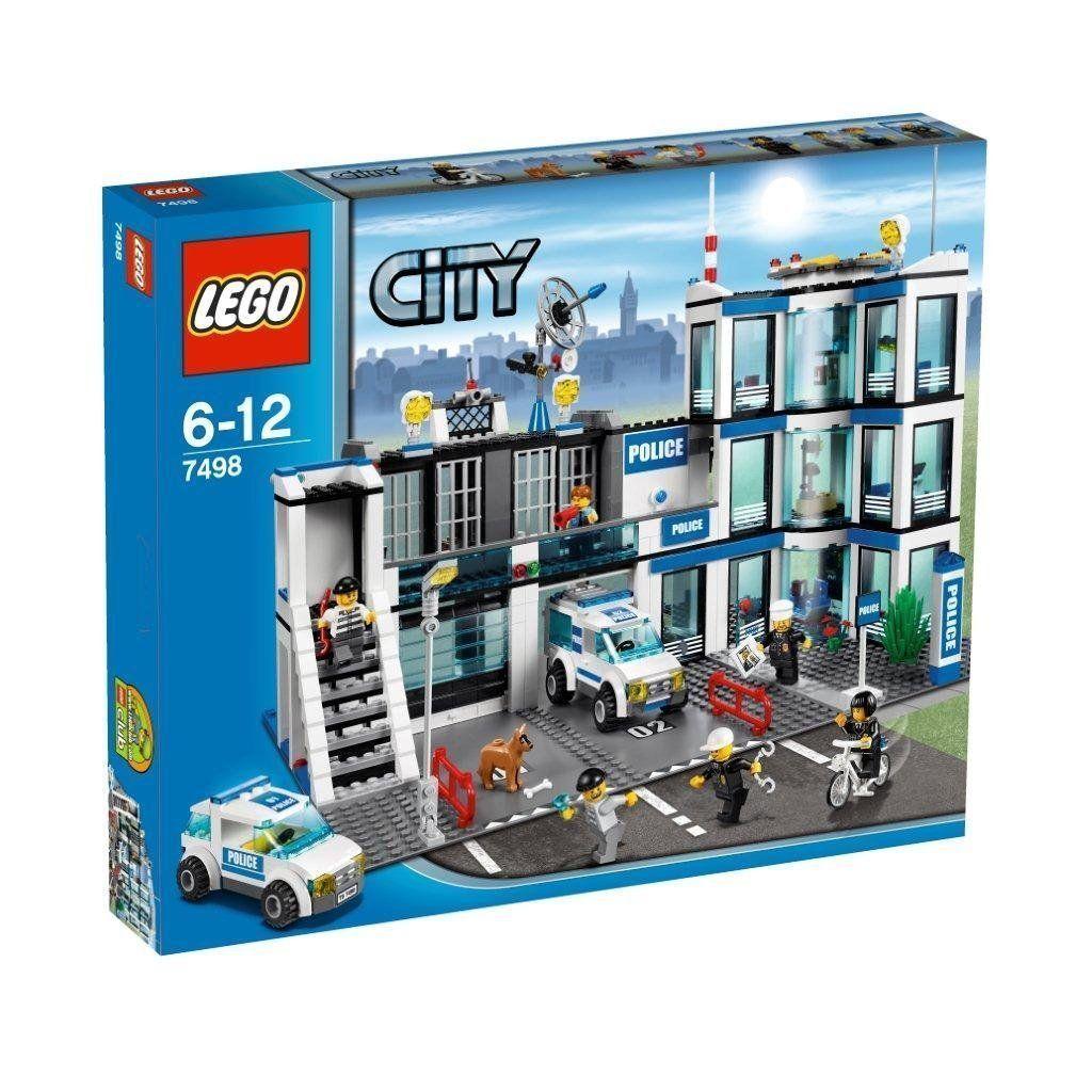 Lego city 7498 polizei - neue